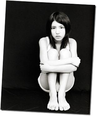 Kawashima Umika in Ao no corridor
