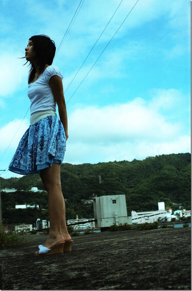 Kawashima Umika Ao no corridor (51)