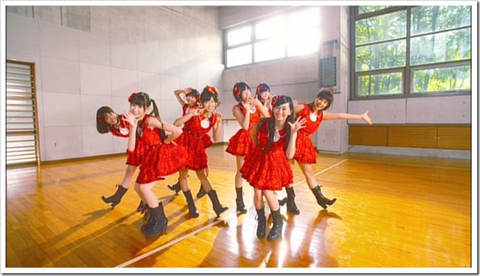 NMB48 Akagumi in Mattemashita, Shin gakki (6)