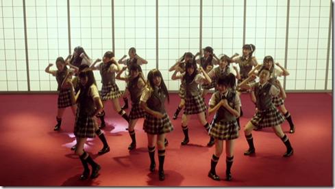 NMB48 in Zetsumetsu kurokami shoujo (3)