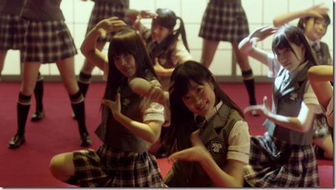 NMB48 in Zetsumetsu kurokami shoujo (9)
