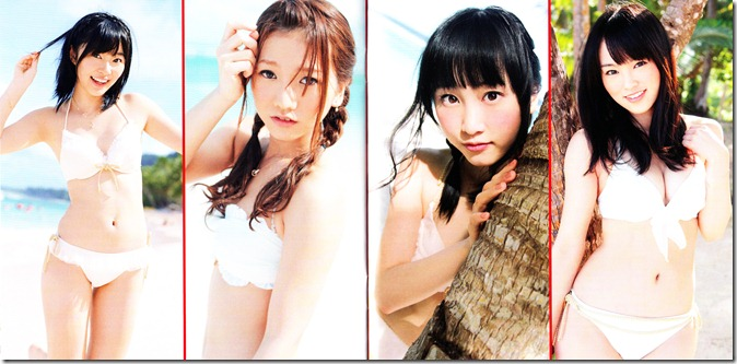 AKB48 Manatsu no Sounds good! Type A single slipcase & booklet scans (7)