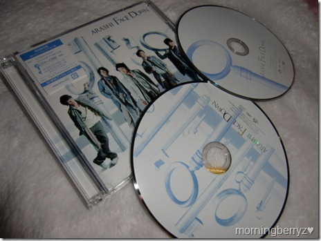 ARASHI♥ Face Down LE with DVD single release
