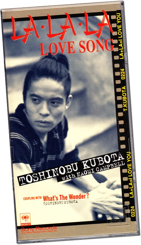 "Kubota Toshinobu ""La La La Love Song"" 3"" CD single"