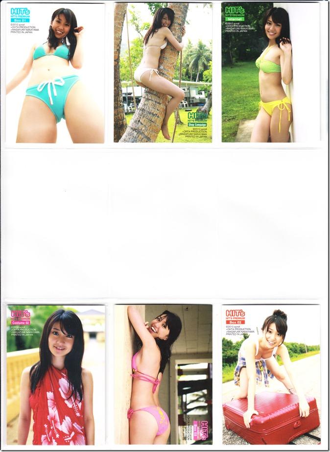 Oshima♥Yuko Hits Premium Trading Card set complete (10)