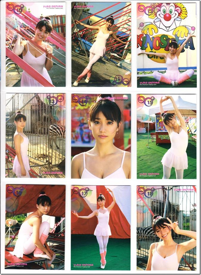 Oshima♥Yuko Hits Premium Trading Card set complete (13)