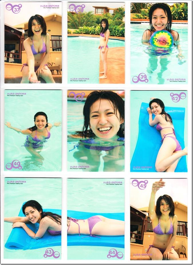 Oshima♥Yuko Hits Premium Trading Card set complete (19)