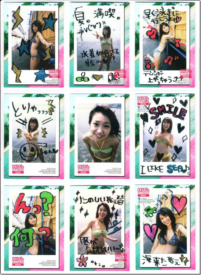 Oshima♥Yuko Hits Premium Trading Card set complete (24)