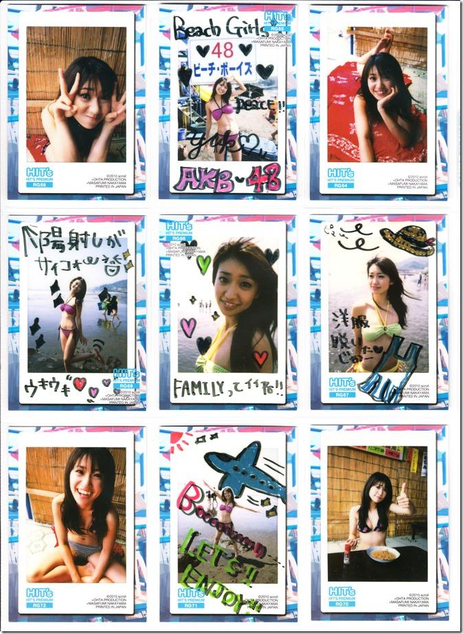 Oshima♥Yuko Hits Premium Trading Card set complete (26)