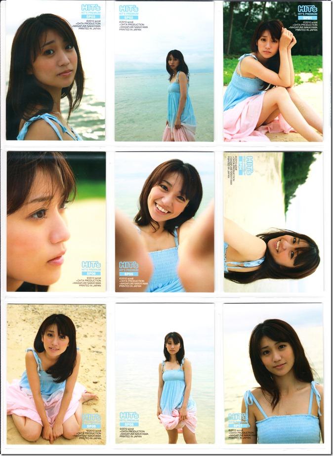 Oshima♥Yuko Hits Premium Trading Card set complete (2)