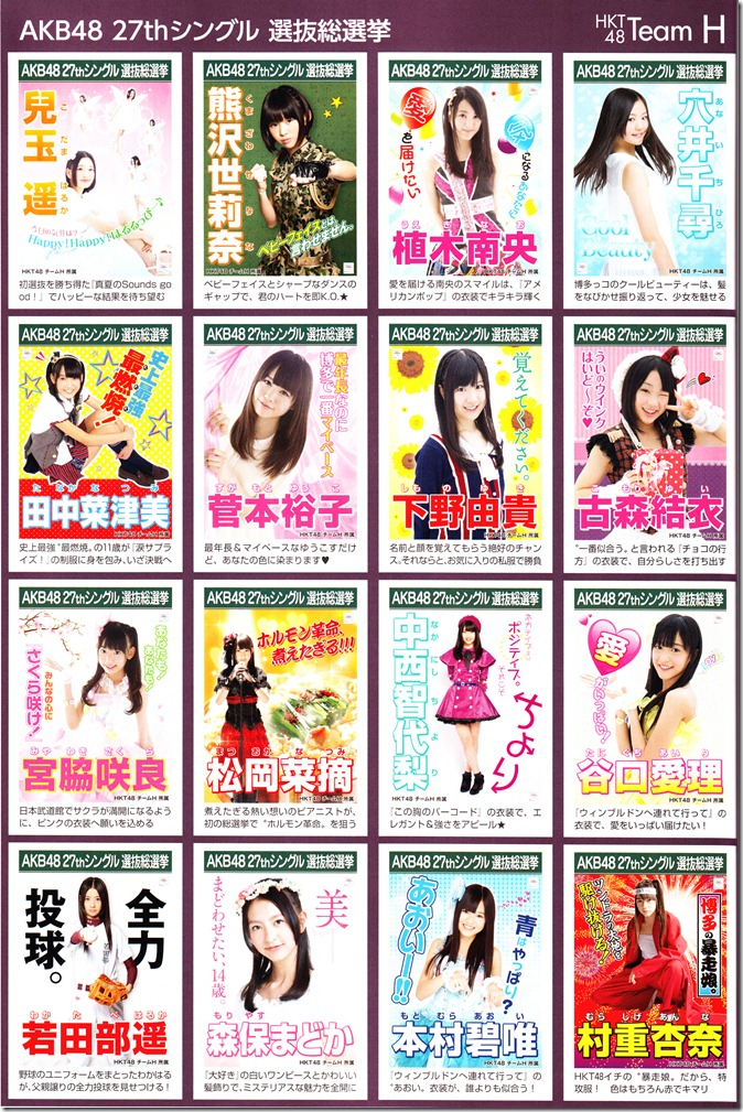 AKB48 2012 Sousenkyo poster complete guide (10)