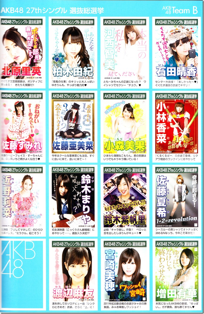 AKB48 2012 Sousenkyo poster complete guide (3)
