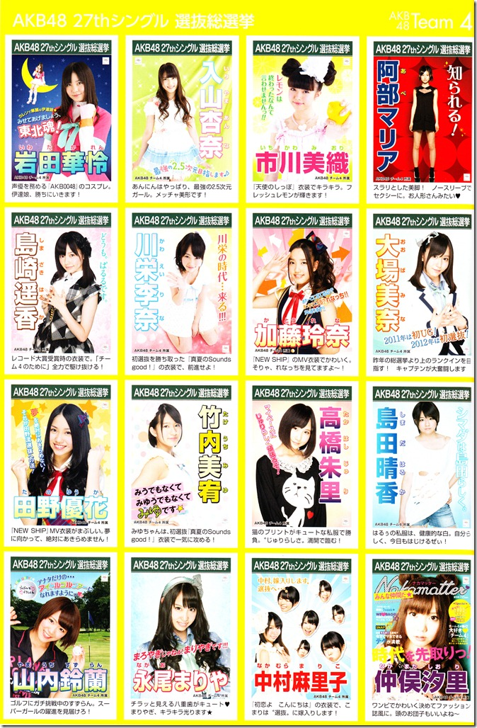AKB48 2012 Sousenkyo poster complete guide (4)