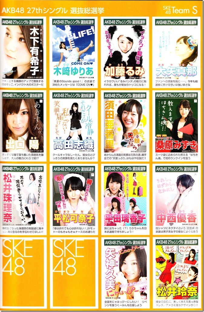 AKB48 2012 Sousenkyo poster complete guide (5)