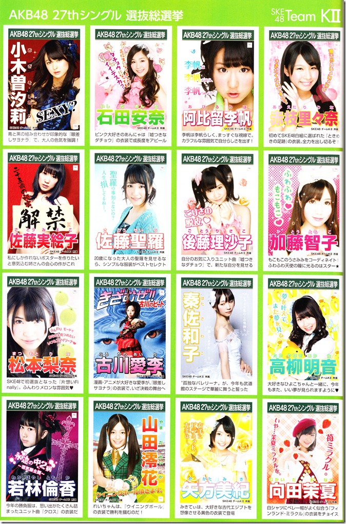 AKB48 2012 Sousenkyo poster complete guide (6)
