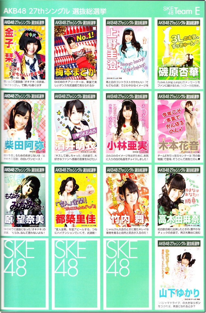 AKB48 2012 Sousenkyo poster complete guide (7)