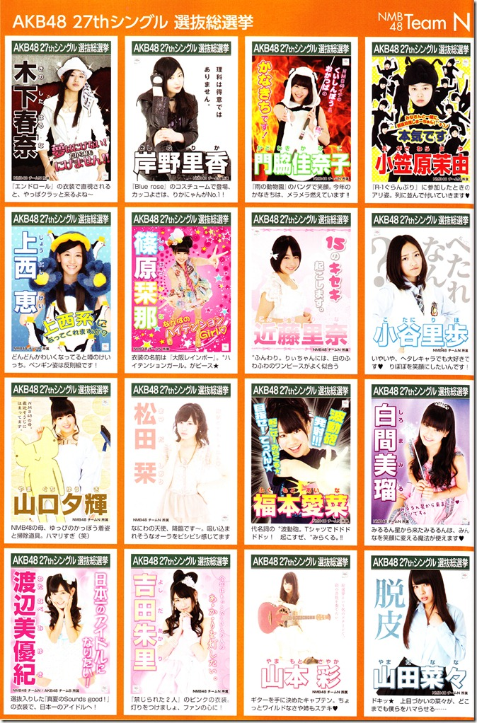AKB48 2012 Sousenkyo poster complete guide (8)
