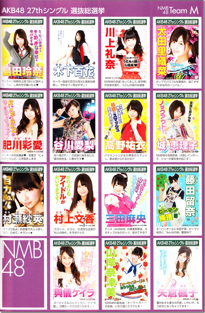 AKB48 2012 Sousenkyo poster complete guide (9)