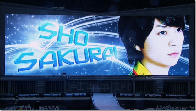ARASHI in LIVE TOUR Beautiful World (6)
