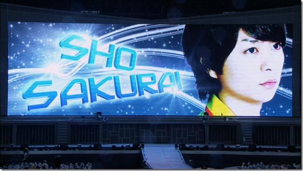 ARASHI in LIVE TOUR Beautiful World (6)