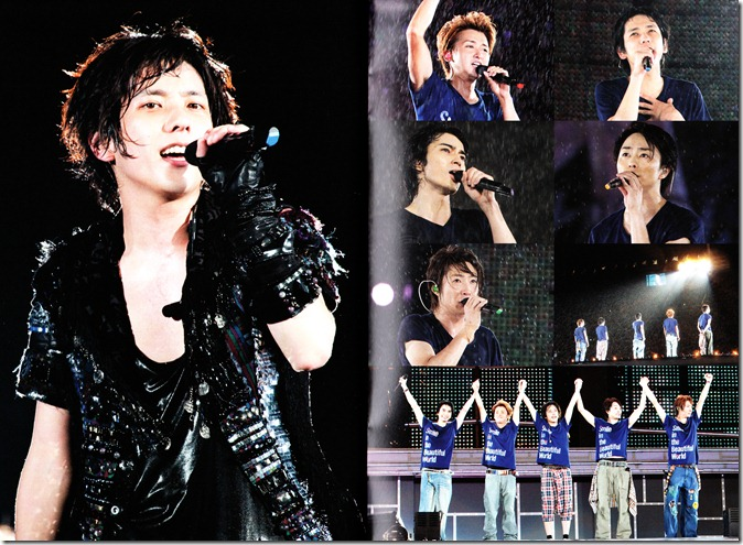 ARASHI LIVE TOUR Beautiful World first pressing booklet complete (21)