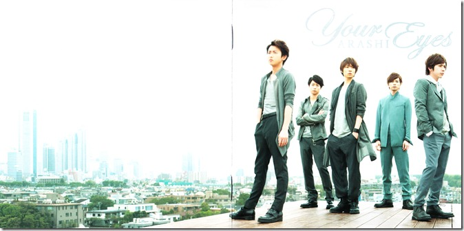 ARASHI Your Eyes LE single scans (1)
