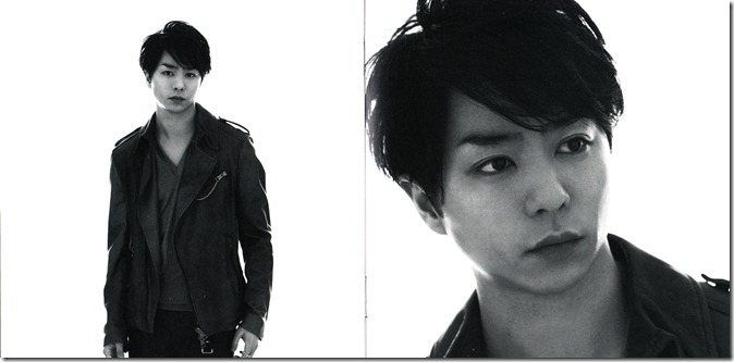 ARASHI Your Eyes LE single scans (5)