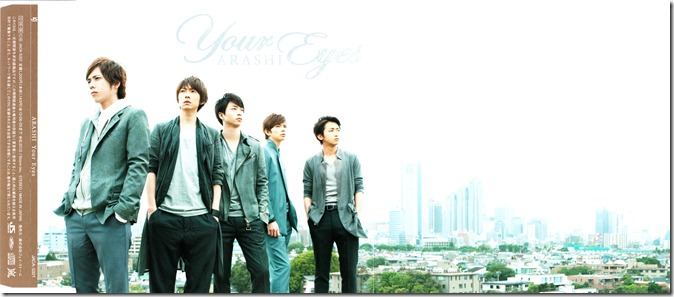ARASHI Your Eyes RE single scans (1)