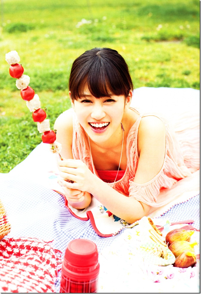 Maeda Atsuko in Weekly Playboy July 2nd, 2012 (5)