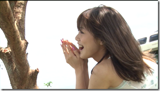 Niigaki Risa in Ascension making of (12)