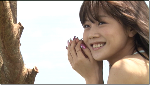 Niigaki Risa in Ascension making of (13)
