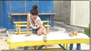Niigaki Risa in Ascension making of (68)