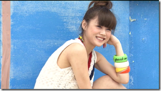 Niigaki Risa in Ascension making of (71)