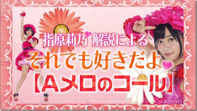 Sashihara Rino Soredemo sukidayo (raibu tokini okeru utsukushi i MIX oyobi call) (1)