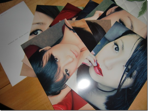 Fukada Kyoko GEKKAN NEO  MOOK TH E PHOTOGRAPHS shashinshuu with post card set