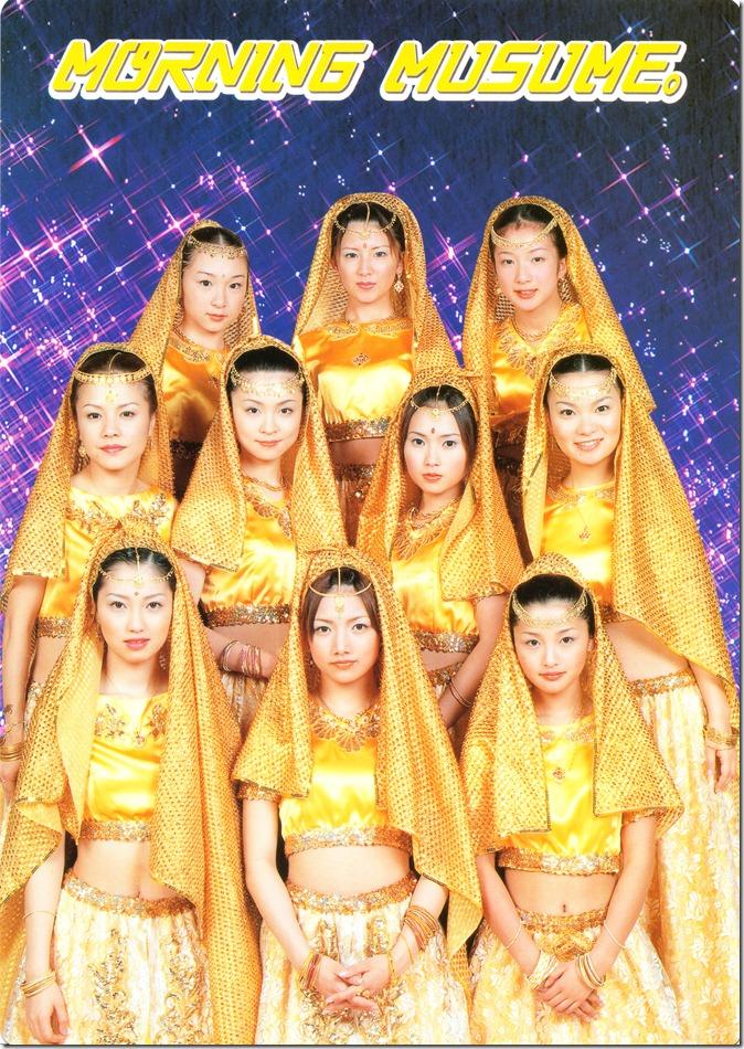 Morning Musume Big Card Collection 2000 (Card 1)