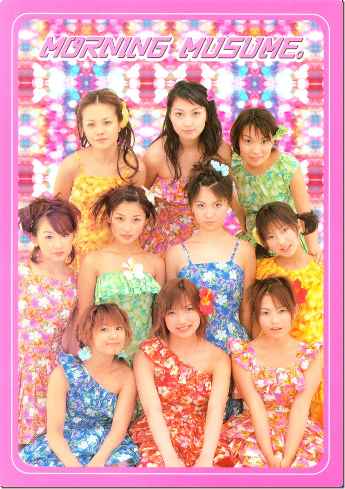 Morning Musume Big Card Collection 2000 (Card 2)