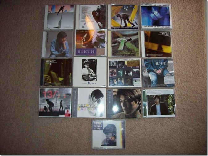 my Ozaki Yutaka music collection