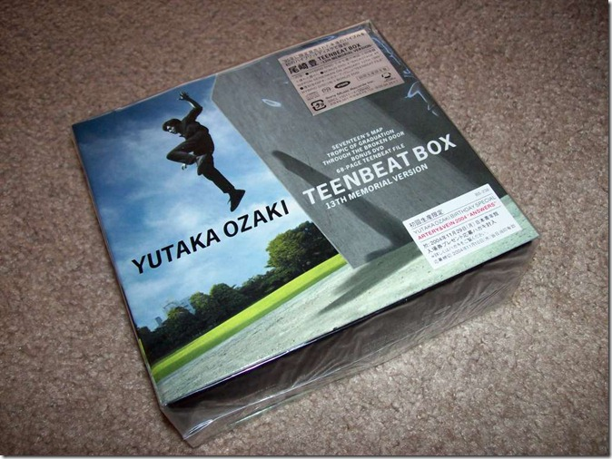 Ozaki Yutaka TEENBEAT BOX 13th MEMORIAL VERSION LE release