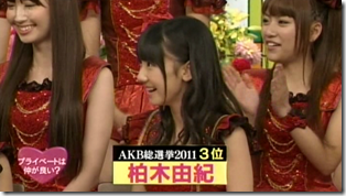 SmapxSmap Bistro (AKB48 2011 media senbatsu members) (11)