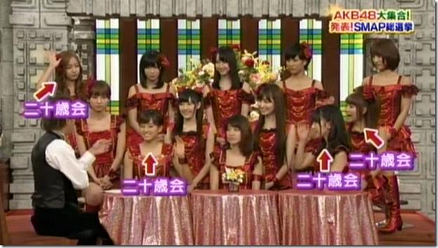 SmapxSmap Bistro (AKB48 2011 media senbatsu members) (12)