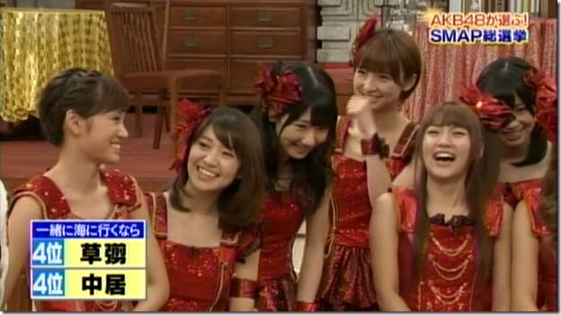 SmapxSmap Bistro (AKB48 2011 media senbatsu members) (31)