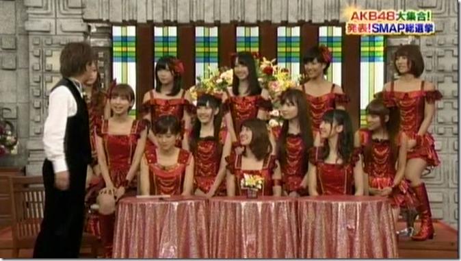 SmapxSmap Bistro (AKB48 2011 media senbatsu members)