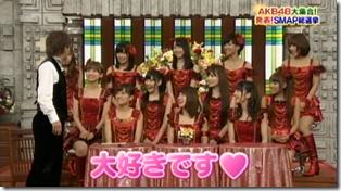 SmapxSmap Bistro (AKB48 2011 media senbatsu members) (7)