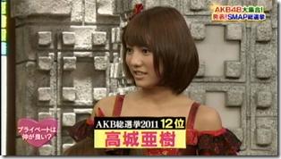 SmapxSmap Bistro (AKB48 2011 media senbatsu members) (9)