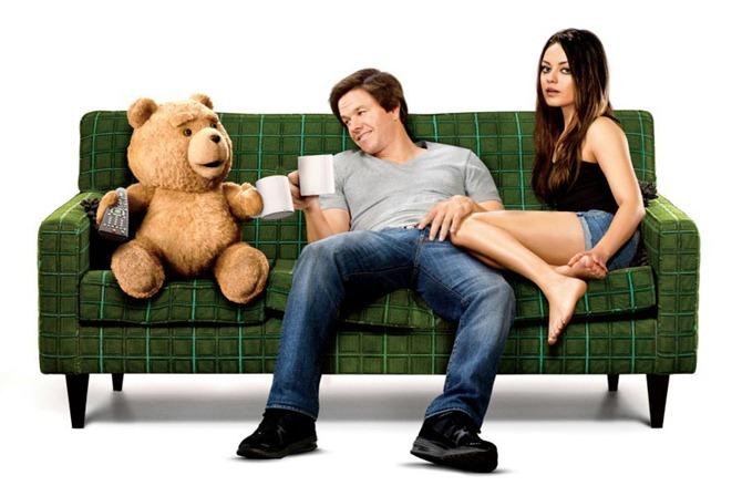 Ted, Mark Wahlberg & Mila Kunis