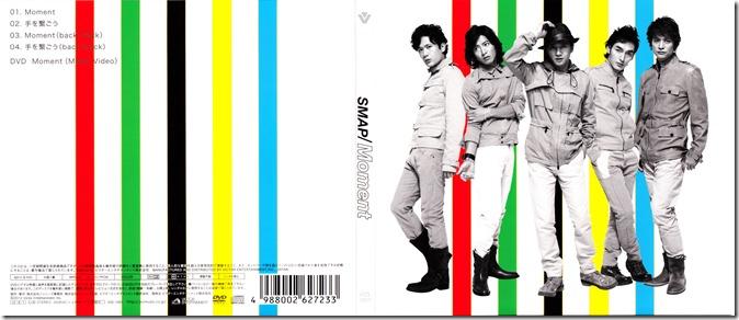 SMAP Moment LE CD single jacket scan