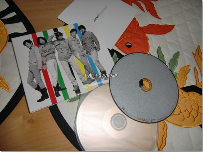 SMAP Moment LE CD single with DVD