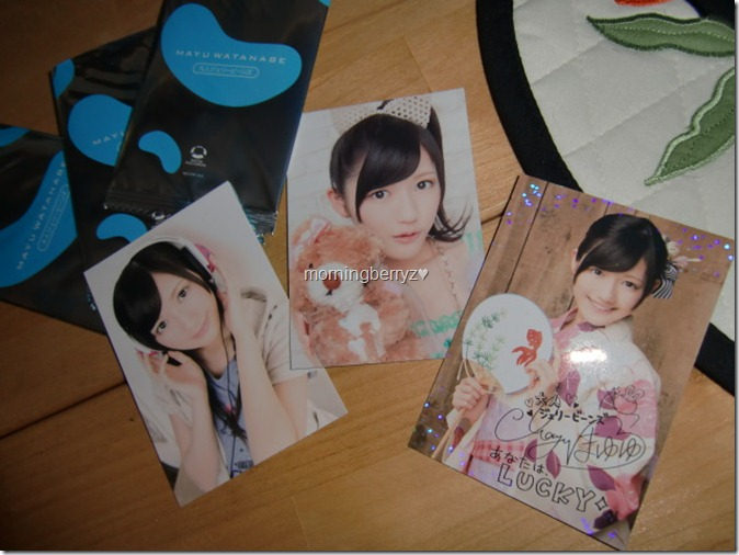 Watanabe Mayu Otona Jelly Beans first press trading cards (external bonus cards)