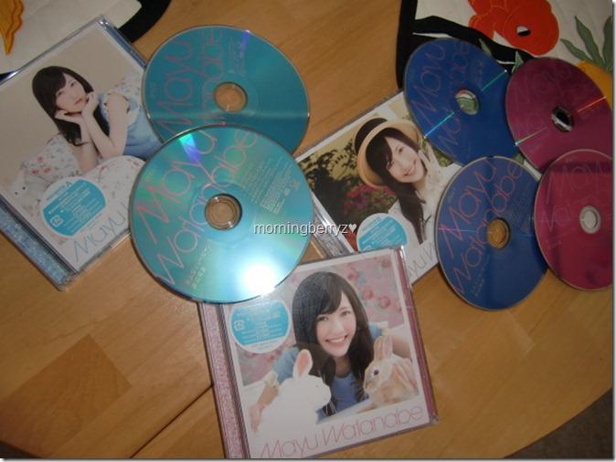 Watanabe Mayu Otona Jelly Beans LE types A, B & C